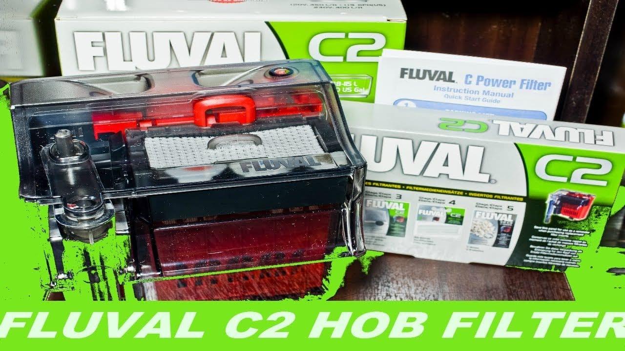 Fluval c2 hob filter 5