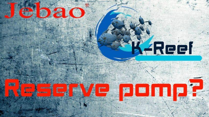 Reservepomp/zoutwater aquarium jecod dcs1200 12