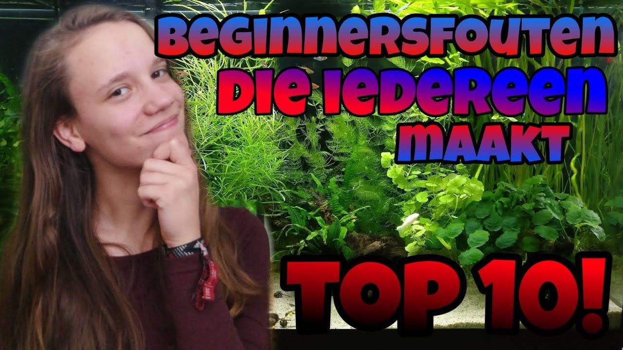 Top 10 beginnersfouten 7