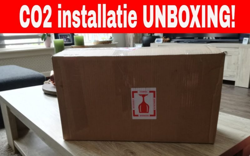 Unboxing CO2 installatie 3
