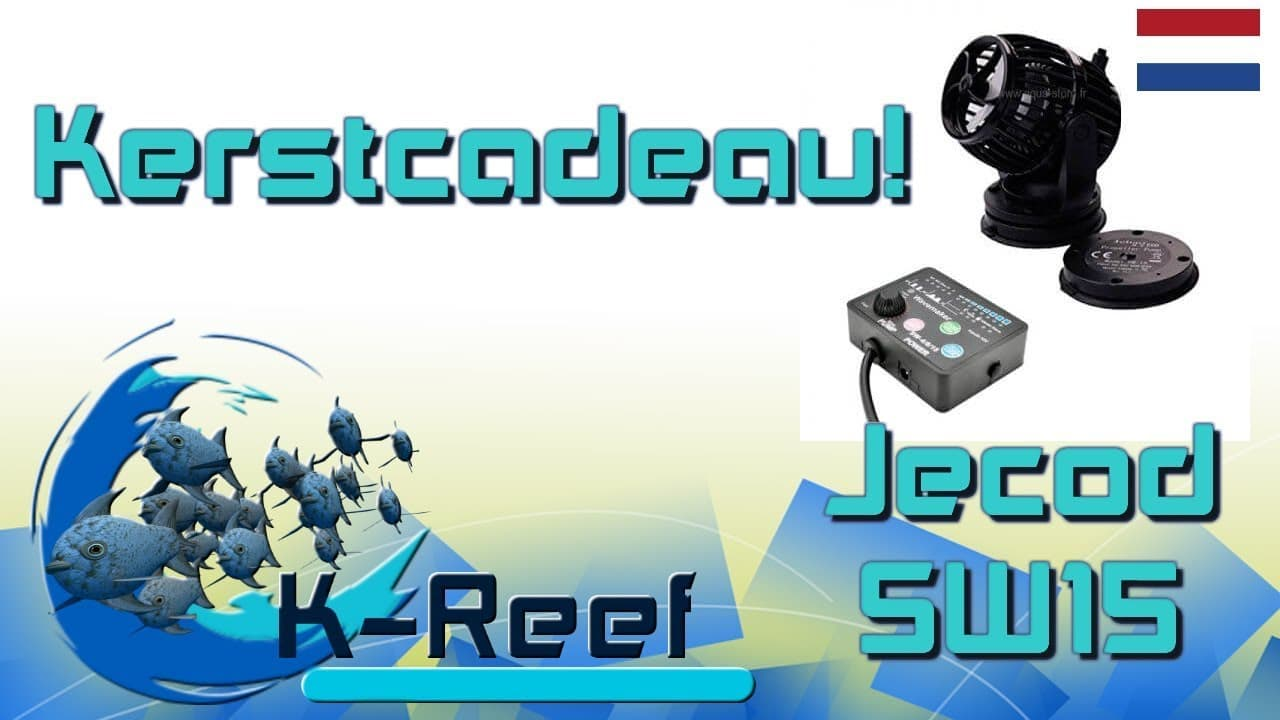 Unboxing JECOD SW15 Stromingspomp 2