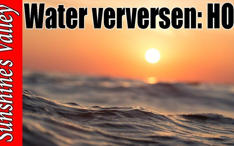 Water verversen? 9