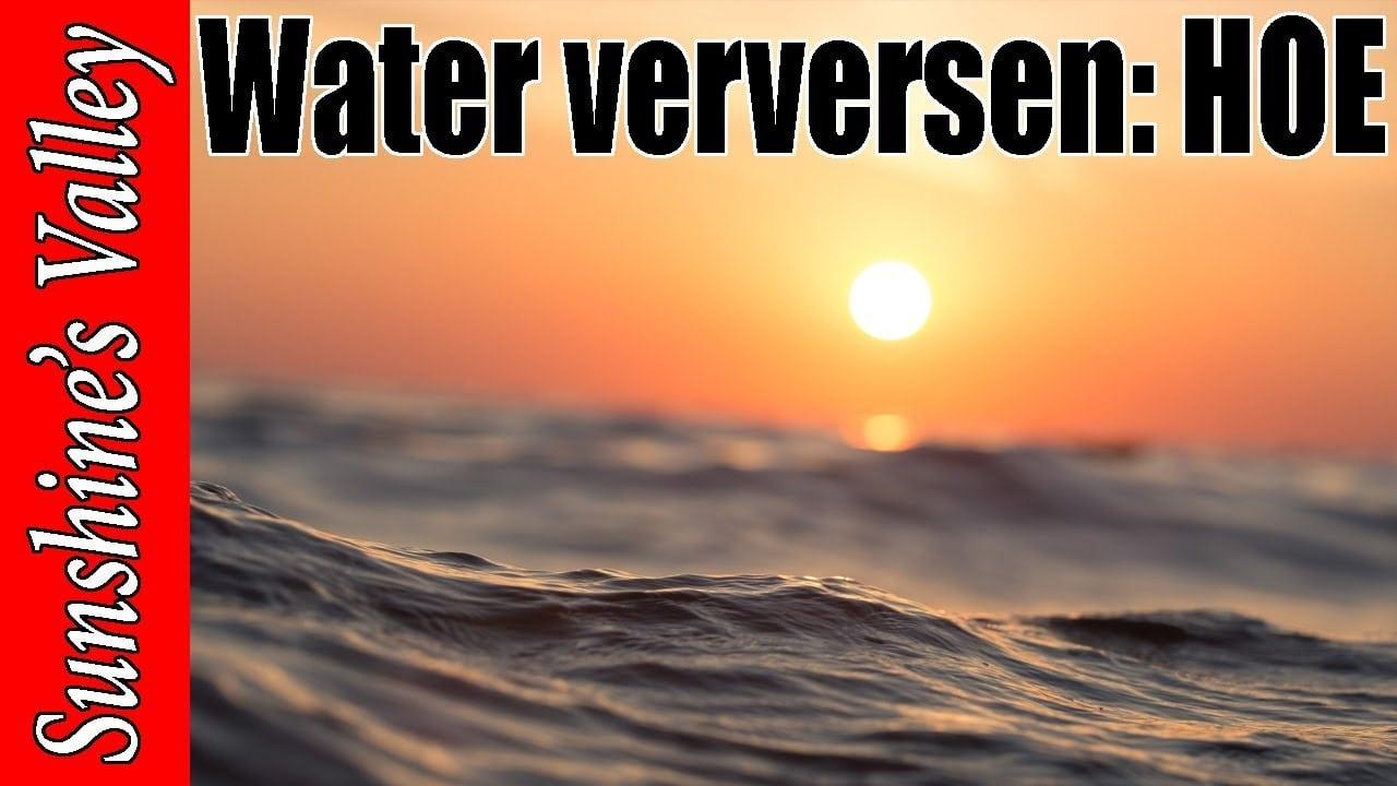 Water verversen? 1