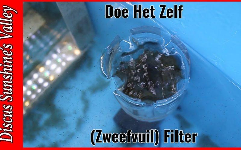 Zweefvuil filter aquarium 5