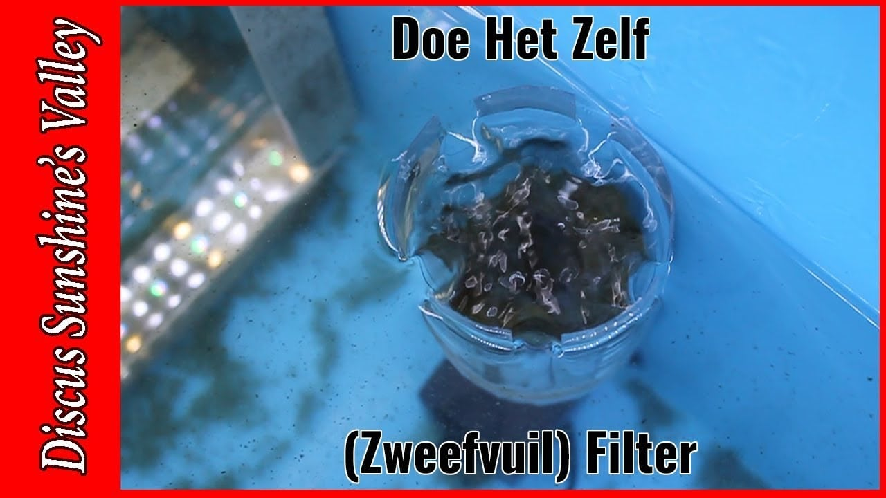 Zweefvuil filter aquarium 12