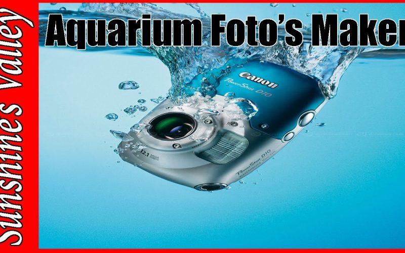 Foto's maken van je aquarium 2