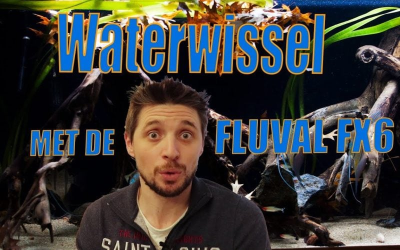 Waterwissel met de FLUVAL FX6 1
