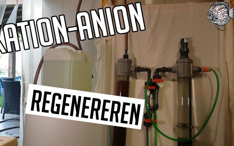 Kation Anion wisselaar regenereren 3