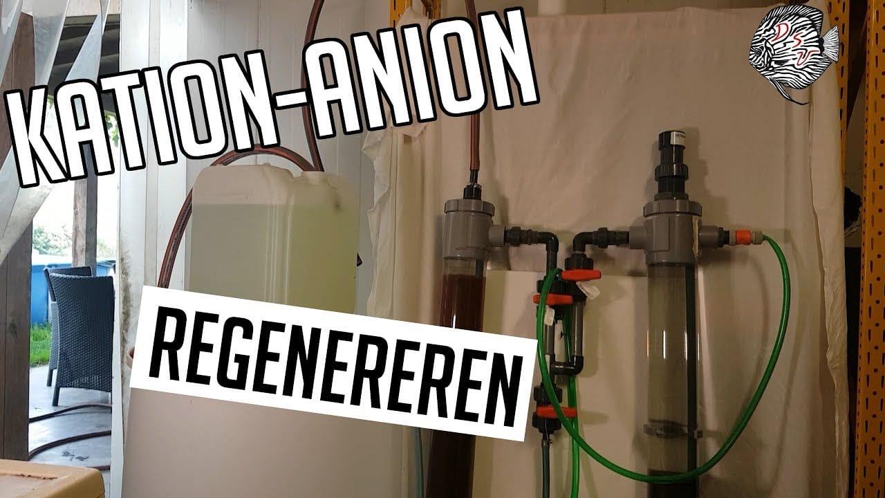 Kation Anion wisselaar regenereren 16