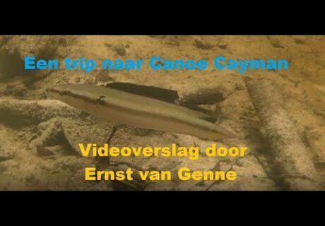 Ernst van Genne: Op zoek naar cichliden in Canoe Cayman, Colombia. 1